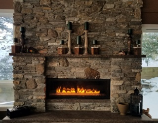 How to Pull Together a Warm, Festive Post-Christmas Winter Mantle