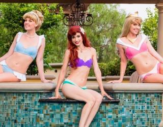 Disney Princess-Inspired Swimwear: Proof That Cinderella Lounges Poolside
