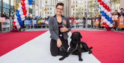 """""""Today"""" Show Service Dog Charlie Meets His Veteran, Induces Ugly Cry Faces Across America"""
