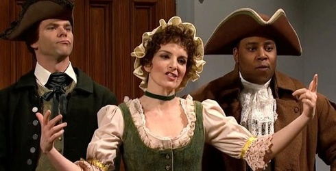 """""""SNL"""" Reminds Us That the Patriots Have Been Number One Since 1776, and Tina Fey Is Sick of It"""