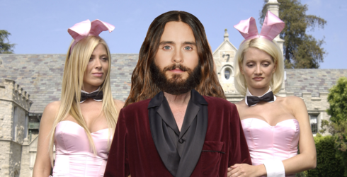 Jared Leto Has Signed on to Play Hugh Hefner, and I Can Only Imagine the Method Acting Possibilities