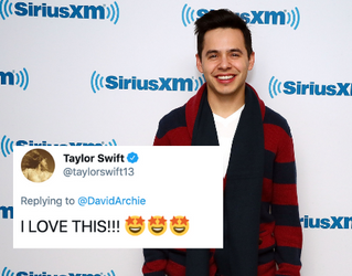 """A Singer/Songwriter on TikTok Inspired This """"Love Story"""" Between David Archuleta & Taylor Swift on Twitter"""