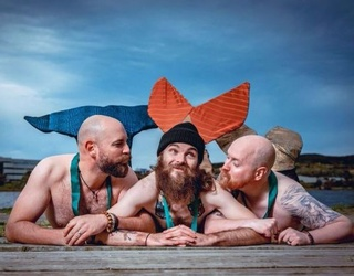 Attention: There Is a Charity Calendar Featuring Hot Bearded Mermen to Get You Through 2018