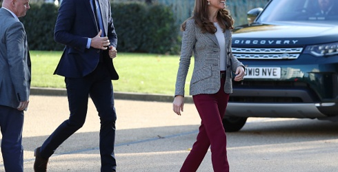 Kate Middleton's Outfit Is REALLY Embracing the Thanksgiving Spirit