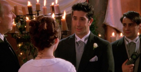 Ross' Botched Wedding Vows Came Straight From David Schwimmer's Own Mistake