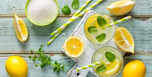 Celebrate a Boozy National Lemonade Day With These Fun Recipes