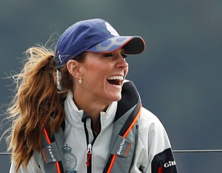 Messy Hair, Don't Care: Piece This Puzzle of a Seafaring Kate Middleton Back Together