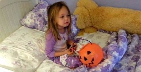 """Check out Jimmy Kimmel's """"I Told My Kids I Ate All Their Halloween Candy"""" 2016"""