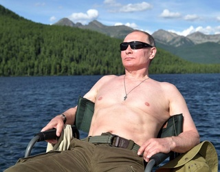 Literally Just a Bunch of Ridiculous Photos From Vladimir Putin's Summer Vacation