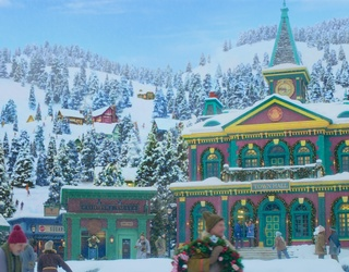 Unscramble Noelle's Picturesque North Pole Hometown
