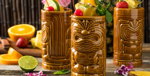 Escape Somewhere Tropical With This Rum Cocktail Puzzle