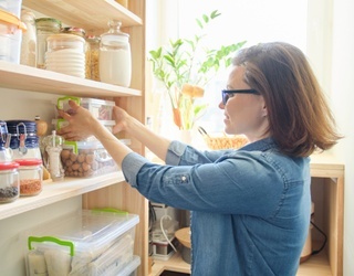 We Can't All Be Chrissy Teigen, but We Have Some Pantry Organization Tips You Can Try
