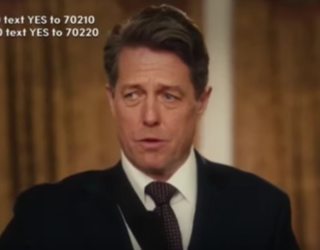 """Hugh Grant Gives Heartbreakingly Relevant """"Love Actually 2"""" Speech After London Attacks"""