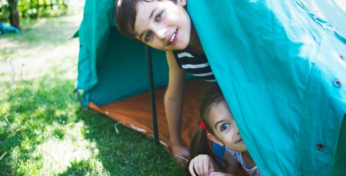 Travel Tuesday: Turn Your Next Backyard Camping Trip Into a Full Experience