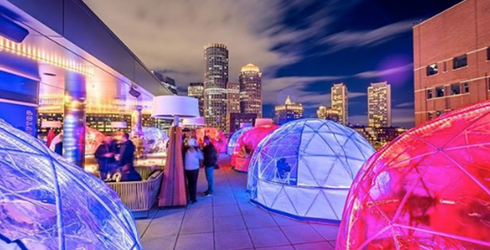 7 Bars With Rooftop Igloos for Snug, Seasonal Sipping