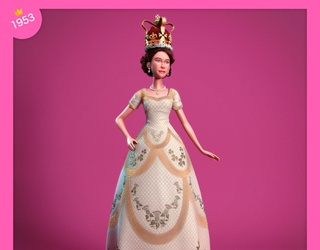 """You Almost Want to Curtsy to These 5 Queen Elizabeth """"Barbie"""" Dolls"""