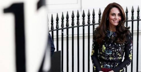 """Kate Middleton's Hair Brought Its """"A"""" Game to Today's Royal Engagement"""