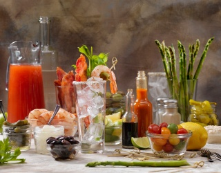 It's Not Sunday Brunch Without a Bloody Mary Bar