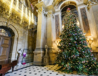 Travel Tuesday: Deck the Halls at These Christmas-Loving Castles