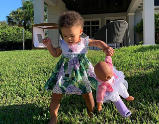Serena Williams's Daughter's Baby Doll Has Better Instagram Game Than All of Us