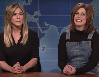 """'90s Nostalgia Is Alive and Well With Jennifer Aniston On """"SNL"""""""