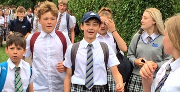 A Group of British Boys Wore Skirts to School in Protest of Archaic Dress Code Rules