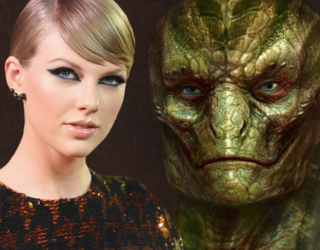 Taylor Swift Is Part of the Reptilian Race and Her Recent Social Media Posts Prove It