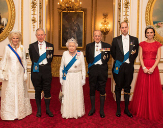 Kate Middleton Borrows the Queen's Tiara for Diplomatic Reception