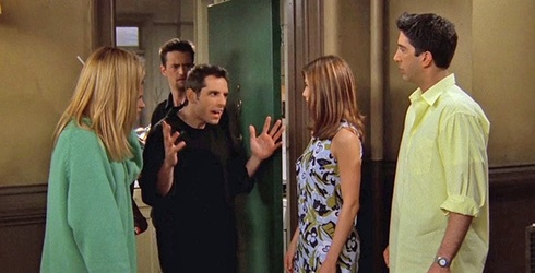 """""""Friends"""" Trivia: The One With an Angry Ben Stiller"""