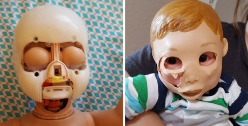 This Little Girl Transplants Doll Faces for Fun, We'll Be Having Nightmares for Weeks