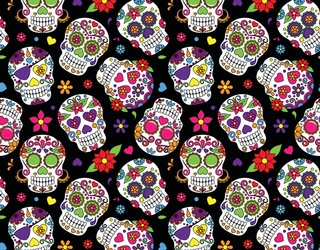 Ring in Día De Muertos by Unscrambling These Colorful Sugar Skulls