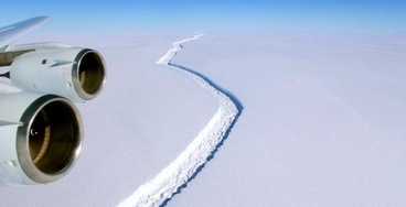 An Ice Shelf the Size of Delaware Is About to Break off of Antarctica
