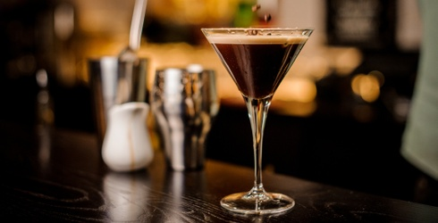 Let's Add Some Decadence to Your Afternoon With an Espresso Martini Memory Match