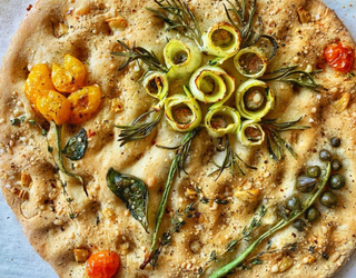Instagram's Focaccia Gardens: The Yeasty, Tasty Masterpieces You Can Eat