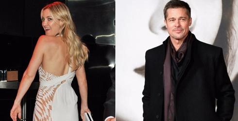 Brad Pitt and Kate Hudson's Romance is the Best Tabloid Rumor Ever