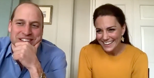 """Will and Kate Show Some Personal Support for Fellow Parents in Virtual """"Thank You"""""""