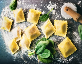 These Raviolis Couldn't Be More Perfect...Well, as Long as You Put Them Back Together