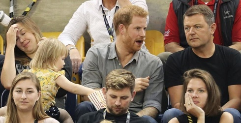 Little Girl Helps Herself to Prince Harry's Popcorn, Gives Zero F***s