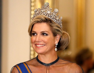Consider Us Blinded by the Light After Seeing Queen Maxima's Tiara Today