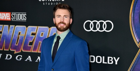 Here's a Bunch of Photos of Chris Evans'...Dog