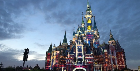 Shanghai Disneyland Helps Support Healthcare Workers With a Light Show in This Puzzle