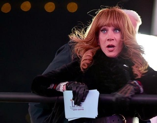 Kathy Griffin Fired From CNN For Beheading Stunt; Scars Barron Trump For Life