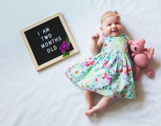 How Many Ways Are There to Document Your Baby's Monthly Birthdays?