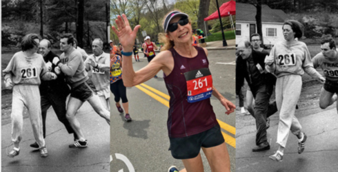 From 1967-2017: First Woman to Officially Run Boston Marathon Does It Again