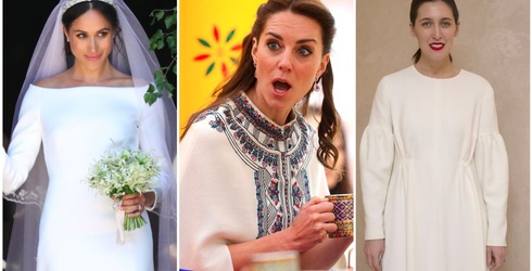 Emilia Wickstead is Not Here For Your Messy Wedding Hair, Meghan Markle
