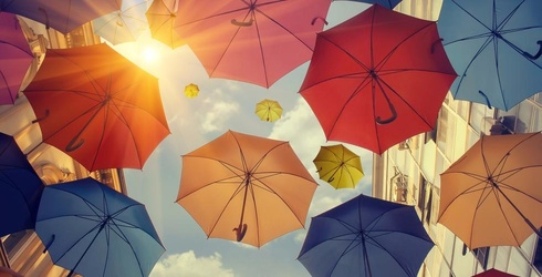 Do as Rihanna Says and Stand Under Our Umbrella-Ella With This Rainy Memory Match