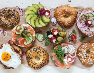 Prepare to Call Your Nearest Bakery After Putting This Bagel Spread Puzzle Together