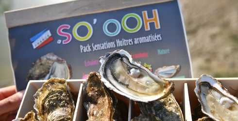 The World's Your Oyster With These Raspberry, Ginger and Wine Flavored Oysters