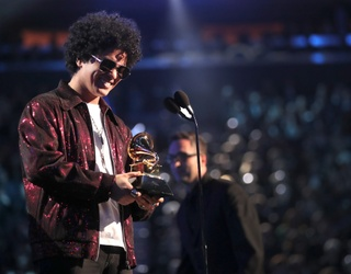 Bruno Mars Is Not-so-Shamelessly Requesting a Spot in the Grammys' Performance Line-Up