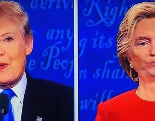 Snapchat Users Went Wild During Last Night's Presidential Debate